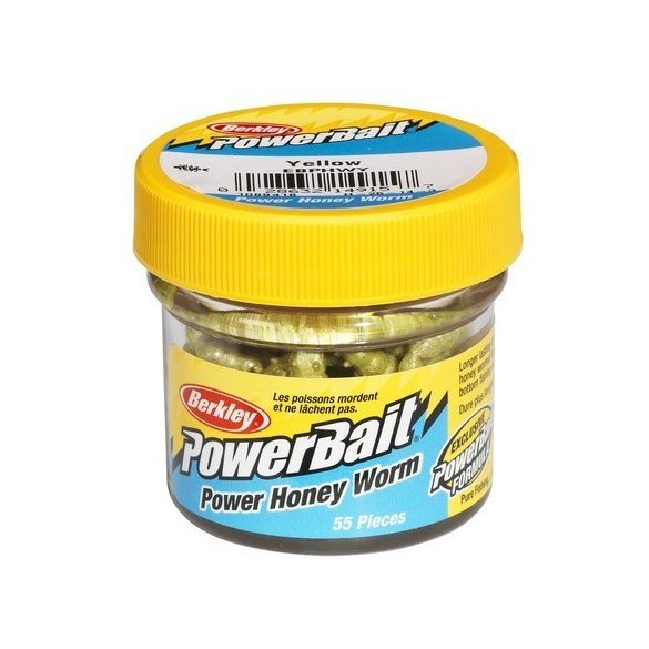 Berkley powerbait honey worm yellow 46