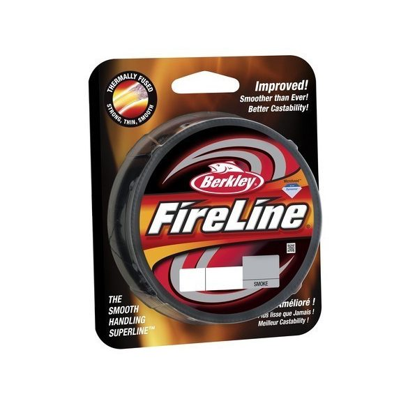 Berkley Fireline 0.17MM 270M smoke