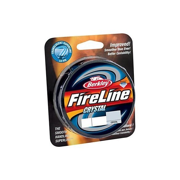 Berkley Fireline 0.10MM 270M crystal