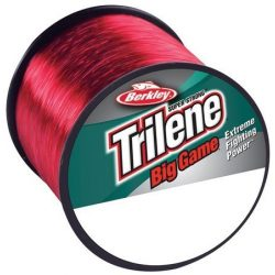 Berkley Trilene Big Game 50LB 0.60MM 600M piros