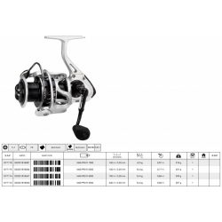 Mitchell reel mag pro r 2000