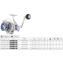 Mitchell reel avocet salt 6000 fd