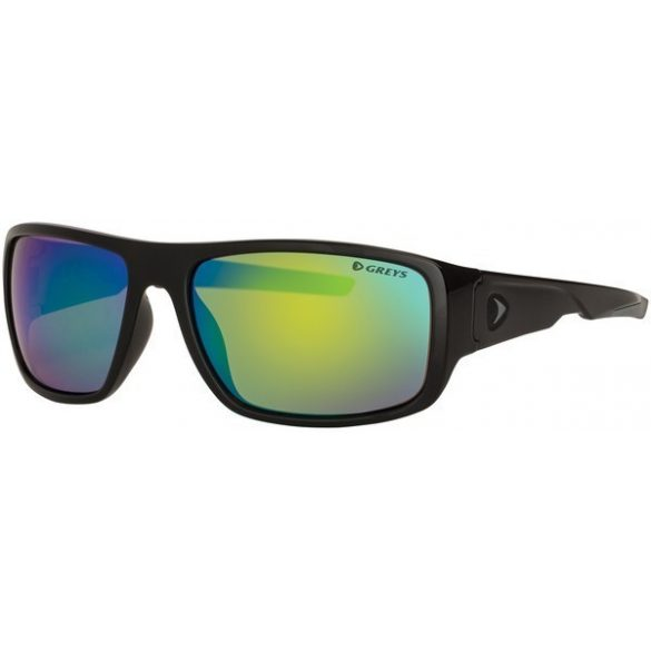 Greys g2 sunglasses (gloss black/green mirror)