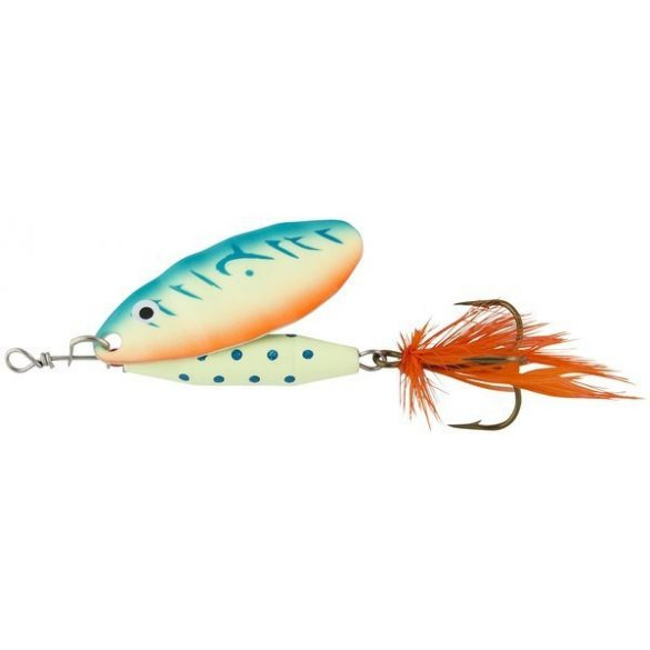 Abu Garcia reflex 18g uv-glow blue orange